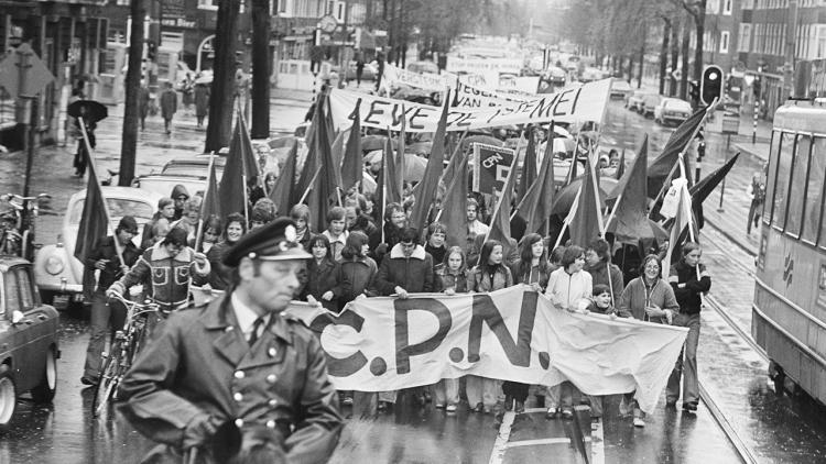 CPN Demonstratie 1 mei 1977