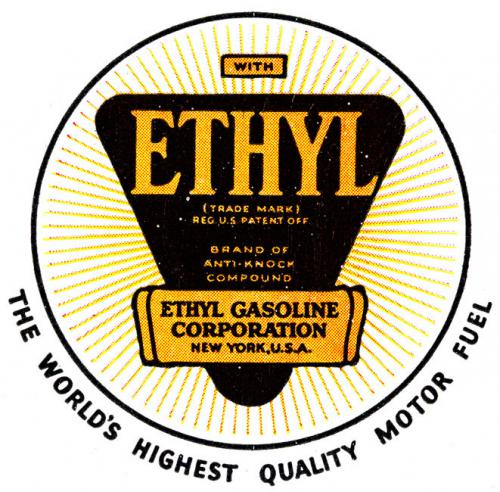 Logo van de Ethyl Gasoline Corporation (1923)
